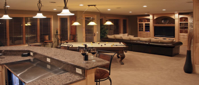Basement Design, Remodeling And Finishing, Let M U0026 M Create Your Dream  Basement Today