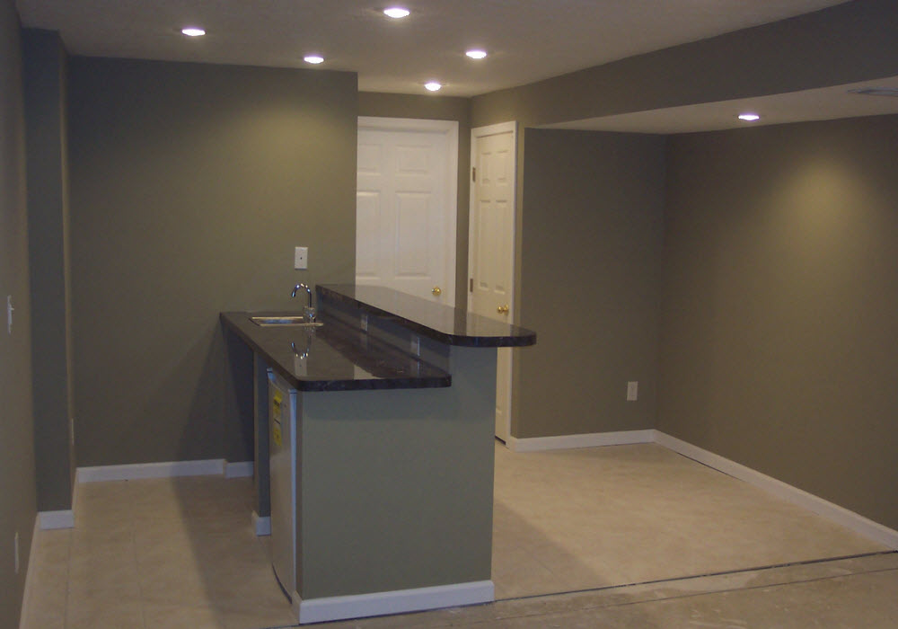 Genial Basement Remodeling In Dayton Ohio