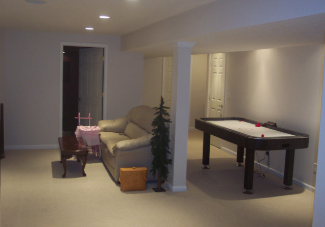 Basement Remodeling in Dayton Ohio by M & M Home Remodeling & Construction